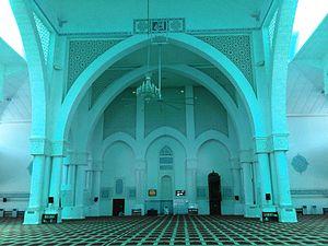 International Islamic University Malaysia - Image: IIUM Mosque interior