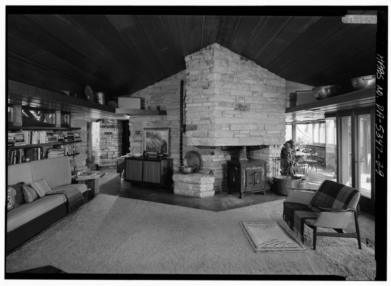 File Interior View In South Living Room Showing
