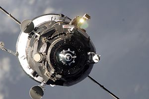 A Progress spacecraft.