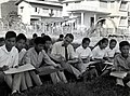IVS Volunteer Roderick MacRae Teaches Arts and Crafts at the Teachers' College in Pakse, Laos, circa 1961 (13875612113).jpg