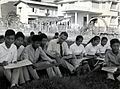 IVS Volunteer Roderick MacRae Teaches Arts and Crafts at the Teachers' College in Pakse, Laos, circa 1961 (13875612113).jpg