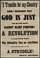 I tremble for my country when I remember that God is just and that his justice cannot sleep forever! A revolution is among possible events. The Almighty has no attribute which would side with us in such a struggle! (7645377312).jpg
