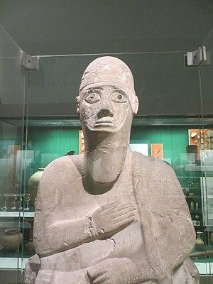 Alalakh -  Statue of Idrimi in the British Museum
