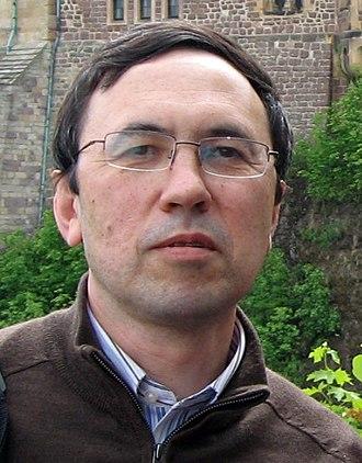 Abir Igamberdiev - Abir Igamberdiev at Wartburg castle (Germany) in 2011