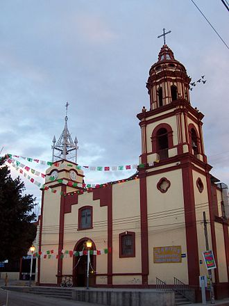 Cerritos, San Luis Potosí - Cathedral of Cerritos, SLP