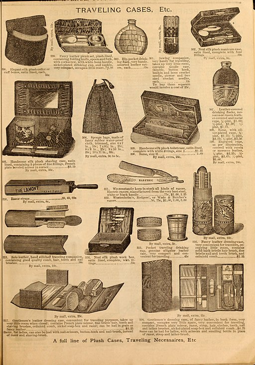 Illustrated fashion catalogue - summer, 1890 (1890) (14597321320)