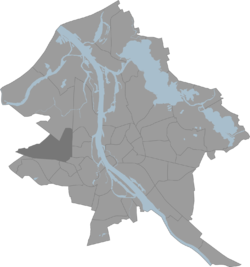 Location in Riga
