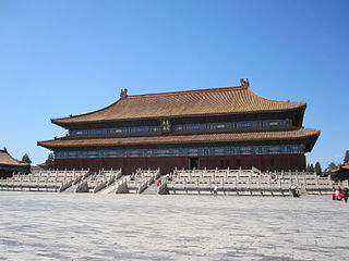 Imperial Ancestral Temple building in Beijing, China