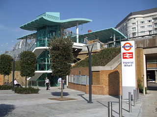 Imperial Wharf railway station London Overground station