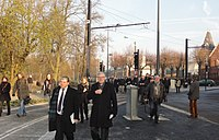 Inauguration de la branche vers Vieux-Condé de la ligne B du tramway de Valenciennes le 13 décembre 2013 (076).JPG