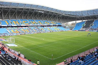 대중 교통으로 인천축구전용경기장 에 가는법 - 장소에 대해
