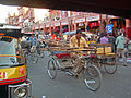 India - Jaipur2 - 031 - traffic in Jaipurs pink-clad Old Town (2178575969).jpg