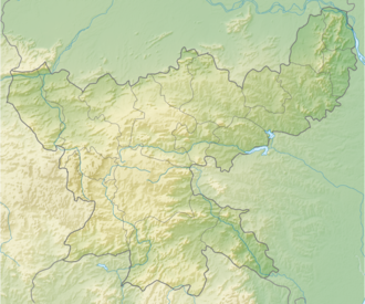 Physical map of Jharkhand India Jharkhand relief map.png