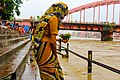 Indian woman at Ganges.jpg