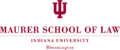 Indiana University Maurer School of Law logo.png