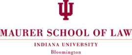 270px indiana university maurer school of law logo