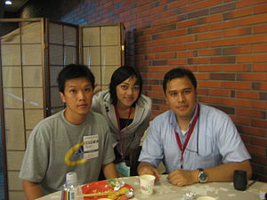 Indonesian Wikimaniacs 2007(3-aug-2007)01.JPG