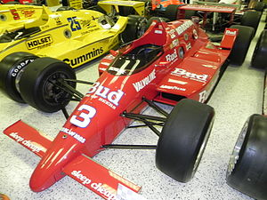1986 CART PPG Indy Car World Series - Image: Indy 500winningcar 1986