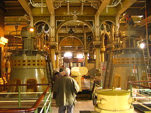 Abbey Mills Pumping Station - Image: Inside Abbey Mills Pumping Station