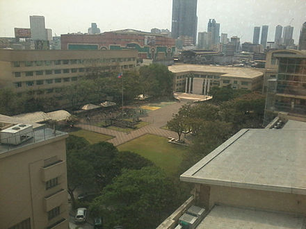 Inside the FEU Campus - Far Eastern University