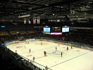 Fjällräven Center - Image: Inside swedbank arena 112607