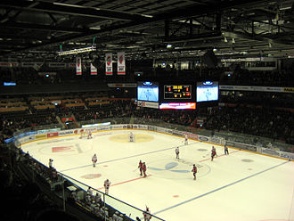 Fjällräven Center - Image: Inside swedbank arena 112607