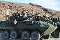 Integrated Task Force Tanks, LAVs prepare for assessment 150228-M-ZM882-032.jpg