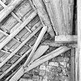 Interieur kap zuidwesthoek, kapconstructie, tijdens restauratiewerkzaamheden - Bornwird - 20329566 - RCE.jpg