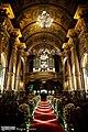 Interior da Igreja de São Francisco de Paula, Rio de Janeiro - Nave, vista para o coro alto (8).jpg