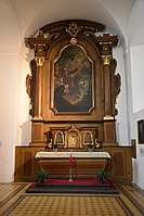 Interior of the Church of the Finding of the True Cross (Brno) 03.jpg