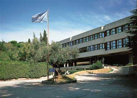 Abdus Salam International Centre for Theoretical Physics was founded by Salam in 1964. International Centre for Theoretical Physics.jpg
