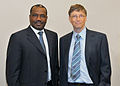 International Telecommunication Union - Dr Hamadoun Touré and Bill Gates - Flickr - itupictures.jpg