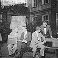 Internationale Ruimtevaartcongres (Amsterdam) Professor Krasovsky (Rusl) en Pro, Bestanddeelnr 909-8083.jpg