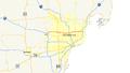 Interstate 696 (Michigan) map.png