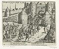 Intocht van Don Juan te Brussel, 1577, anoniem, naar Frans Hogenberg, 1613 - 1615.jpg