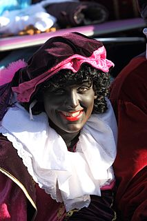 Zwarte Piet Companion of Saint Nicholas in the folklore of the Low Countries