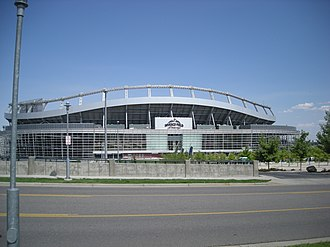 2008 Democratic National Convention - Invesco Field at Mile High, where Senator Barack Obama gave his acceptance speech