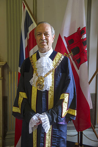 Mayor of Gibraltar - The Hon. Adolfo J. Canepa