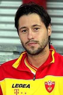 Branko Bošković Montenegrin footballer