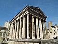 Isère, Vienne - Temple d'Auguste et de Livie 1.jpg