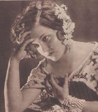 Isabel Garcés - Garcés in 1931