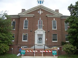 Islip, New York - Islip Town Hall, the heart of both the Town and Hamlet of Islip