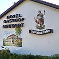 Ismaning (Wandmalerei, Hotel Gasthof Neuwirt, Münchenerstrasse).jpg