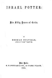 <i>Israel Potter</i> novel by Herman Melville
