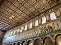 Italie, Ravenne, basilique Sant'Apollinare Nuovo, mosaïque du cortège des vierges, précédé par les rois Mages se dirigeant vers la Vierge Marie (48087014391).jpg