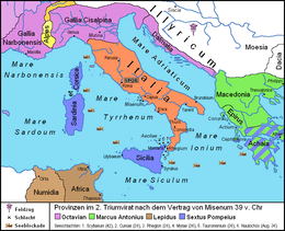 Triumvirat Pompeii