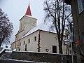 Jílové u Prahy, kostel svatého Vojtěcha, z Krátké (01).jpg