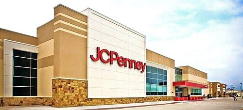 Jcpenney Big Box Store In Houston Texas In October 2009