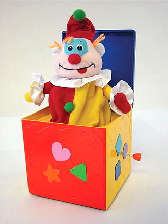 National Toy Hall of Fame - A jack-in-the box