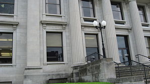 Das Jackson County Courthouse in Murphysboro